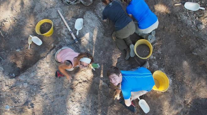 la Biagiola campagna scavo Sovana
