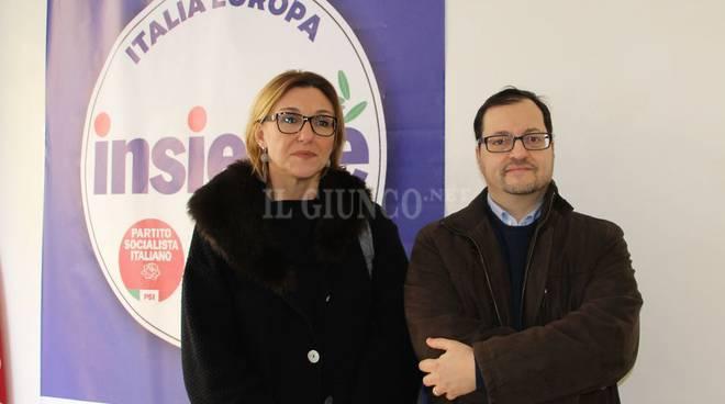 La lista Insieme presenta i candidati Giorgi e Mencuccini
