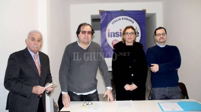 La lista Insieme presenta i candidati Giorgi e Mencuccini Seccarecci Andretta