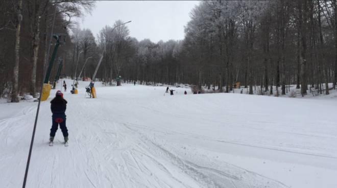 Neve impianti sci 2018