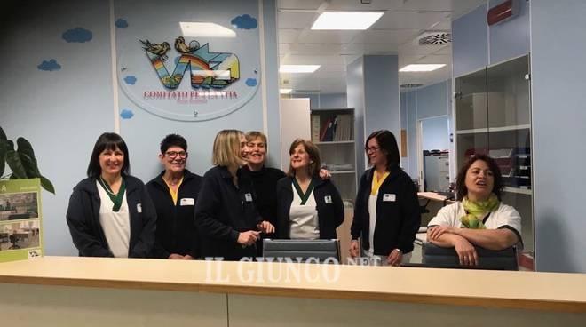 Il comitato per la vita regala la nuova sala di attesa for Nuovi arredi