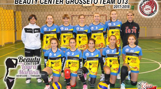 pallavolo Grosseto under 13 Beauty center 2018