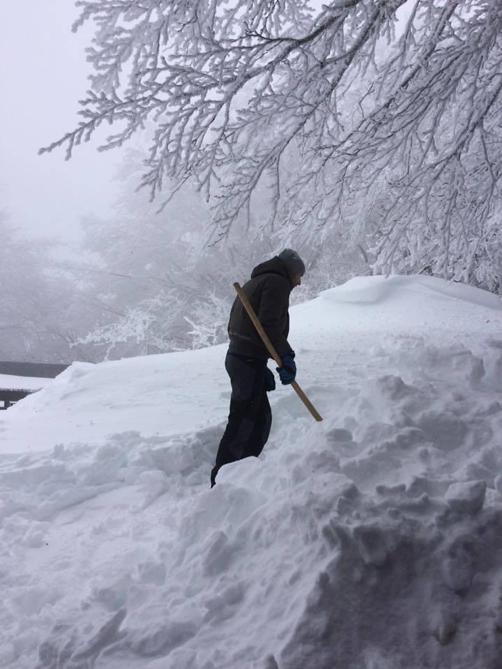 Amiata neve marzo 2018