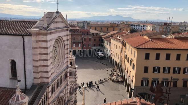 Centro storico Grosseto piazza Dante alto