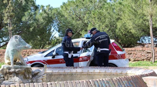 Controlli sulle Mura Polizia Municipale