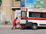 Croce rossa intervento su incidente 2018