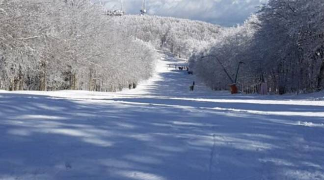 Neve Amiata marzo 2018