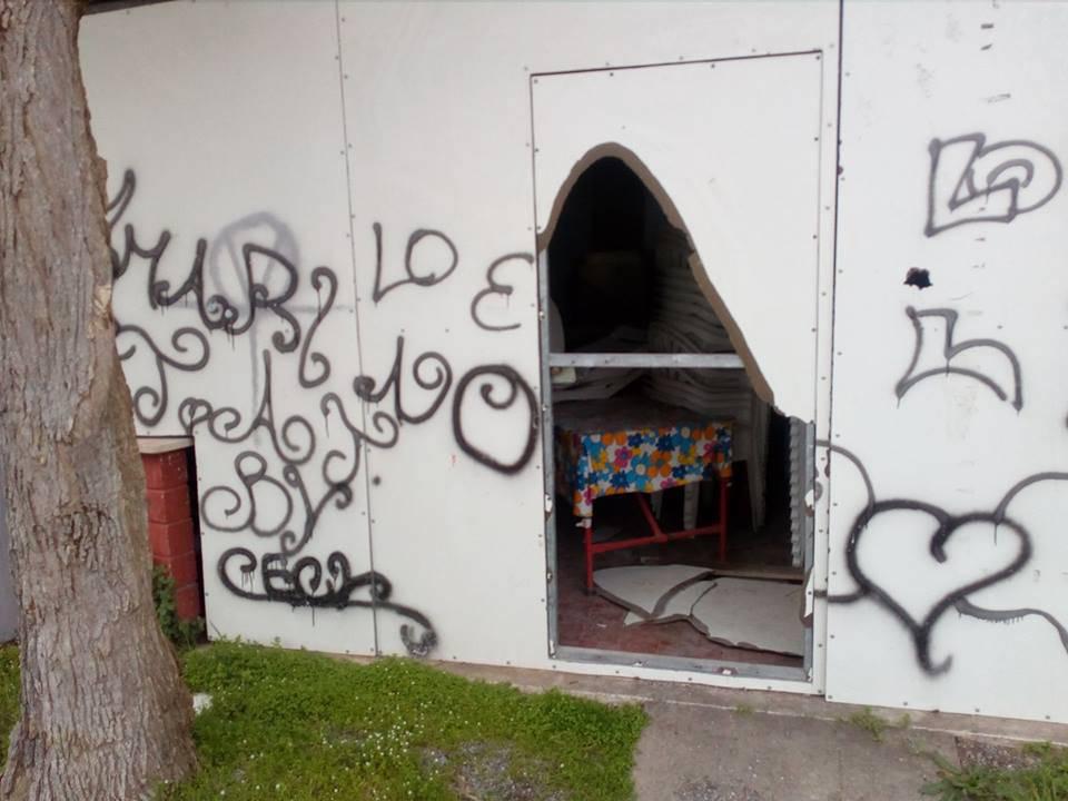 Vandali Casa del Popolo 2018