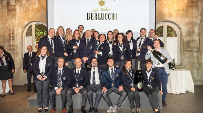 Consegna diplomi AIS a Berlucchi 2018