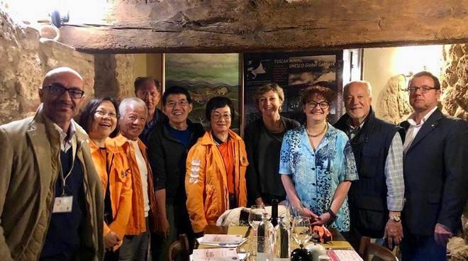 delegazione del Geoparco UNESCO di Hong Kong Gavorrano