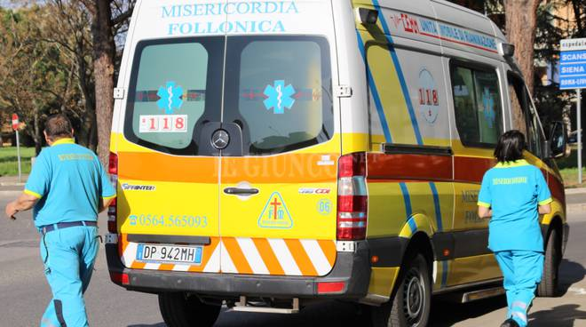 Incidente stradale rondò 2018 Misericordia