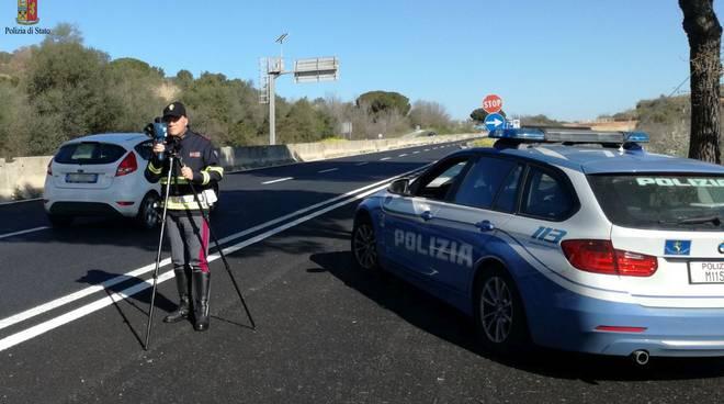 polizia stradale autovelox