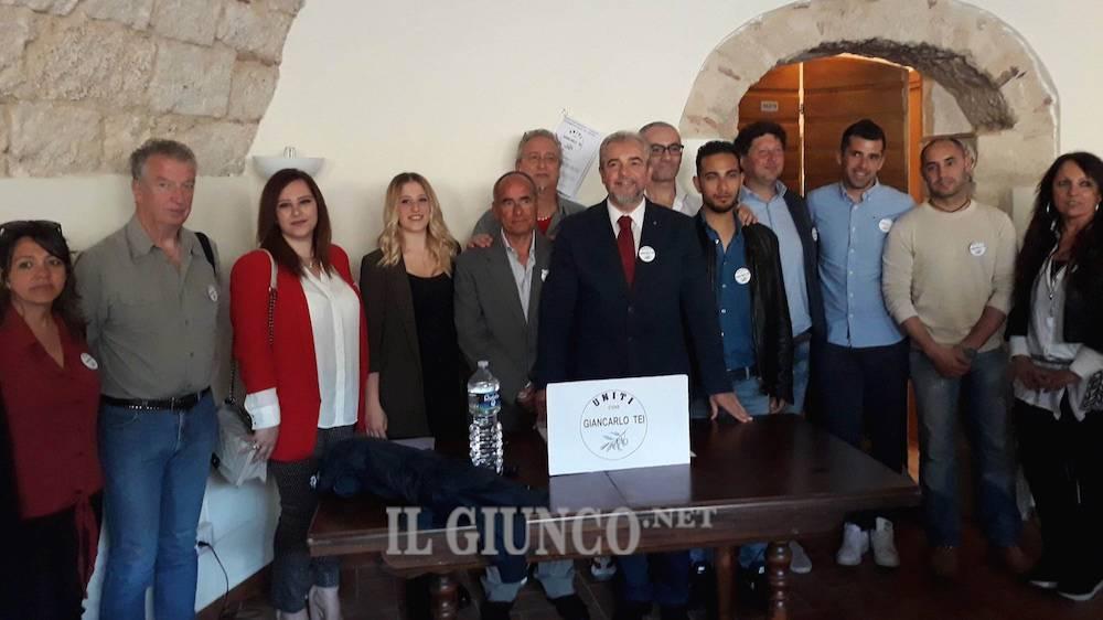 Uniti con Giancarlo Tei (candidati)