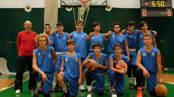 asd follonica basket under 15