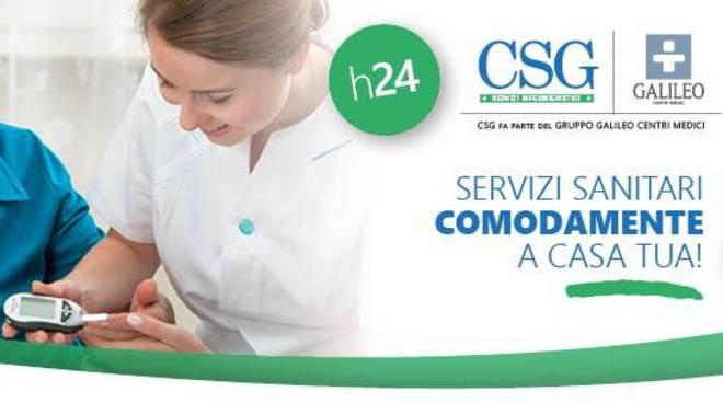 CSG servizi infermieristici