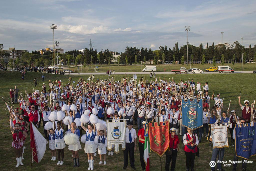Decimo raduno bandistico Foll 2018
