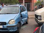 Incidente in città vvf