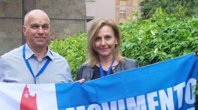 Lucia Morucci Riccardo Ortis Movimento per la sovranità