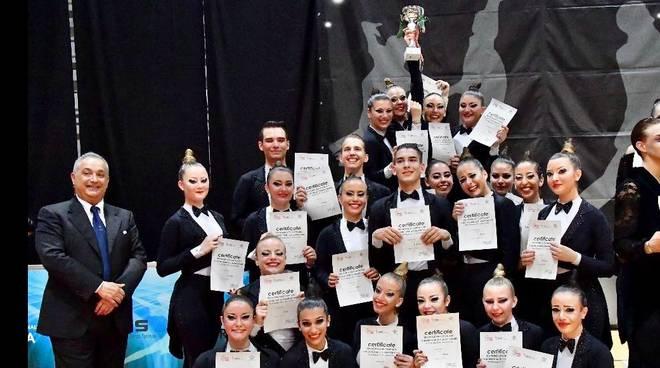 odissea 2001 danza a squadre campioni del mondo