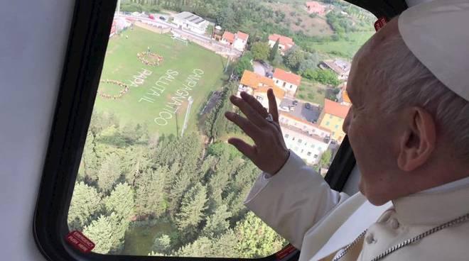 Papa Francesco a Campagnatico