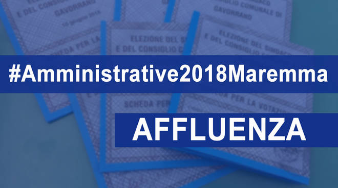 Affluenza Amministrative 2018