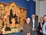 Ambrogio Lorenzetti inaugurazione