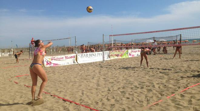 Beach volley summer destination 2018