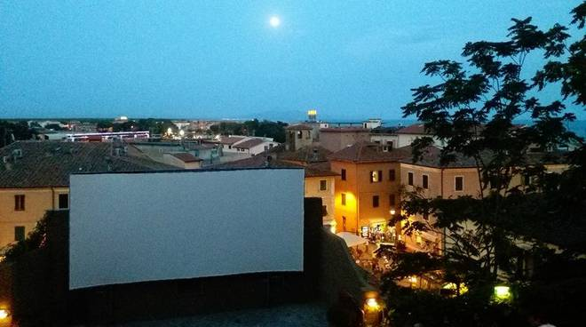 Cinema all'aperto cdp
