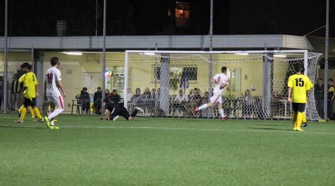 Gavorrano Juniores esultanza gol