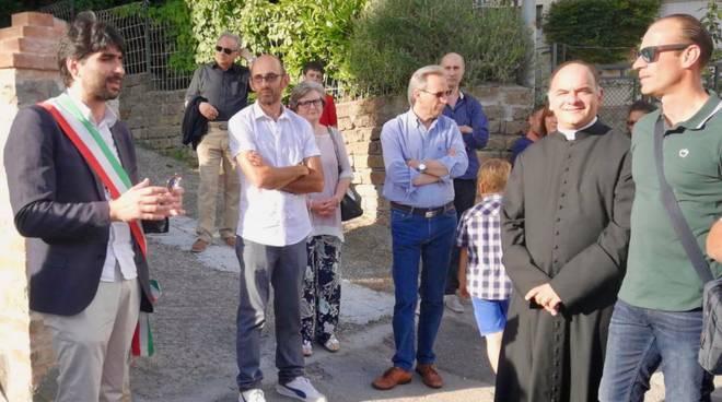inaugurazione pozzi Stribugliano
