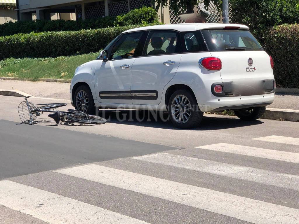 Incidente auto bici 2018
