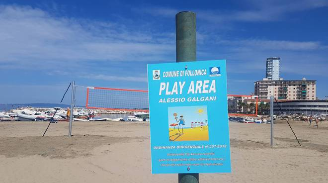 Play Area Beach 2018