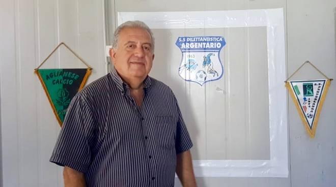 Amerigo Loffredo pres Argentario Calcio