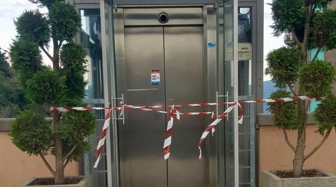ascensore chiuso santa fiora