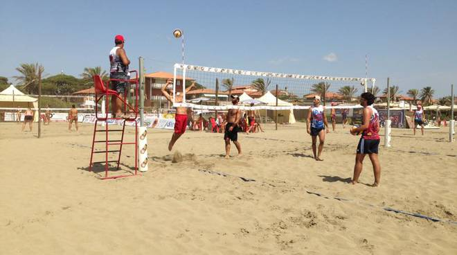 beach volley summer destination