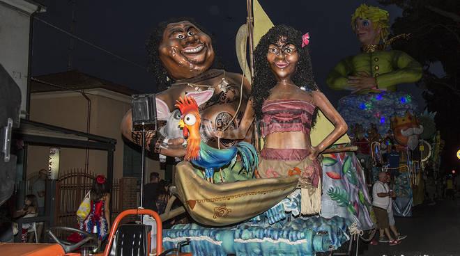 Carnevale Estivo in notturna 2018