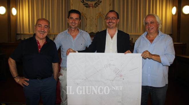 progetto sistema fognario Gora 2018