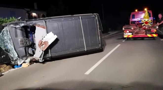incidente Borgo Carige luglio 2018