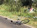Incidente mortale ciclista