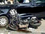 incidente moto puntone lu18