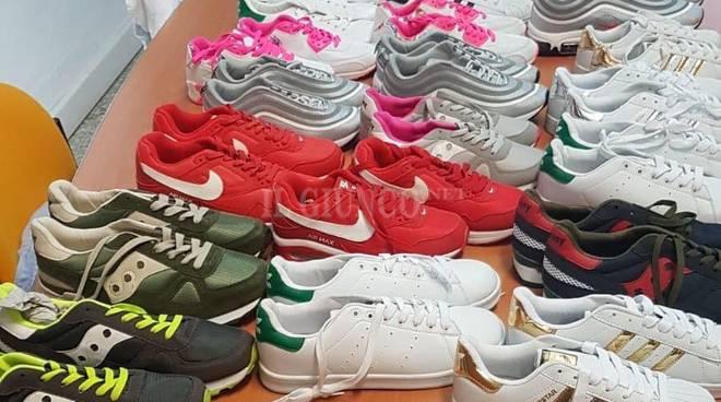 sequestro scarpe