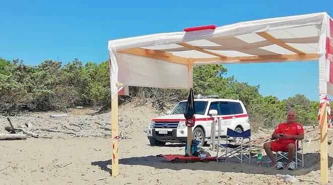 spiaggia sicura feniglia cri orbe 18