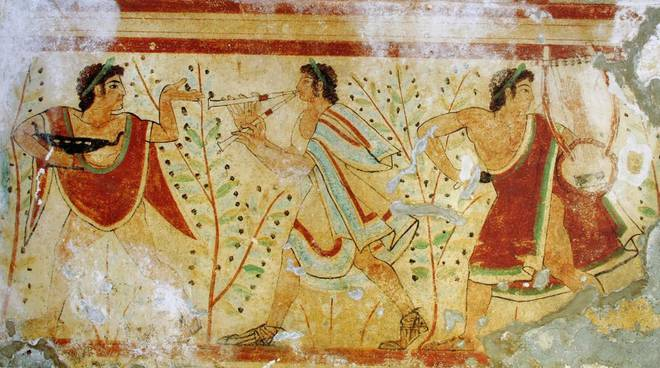 Tomba dei leopardi etruschi
