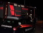 Vigili del fuoco - Carabinieri notte