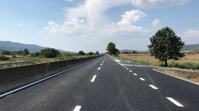 Aurelia asfalto nuovo