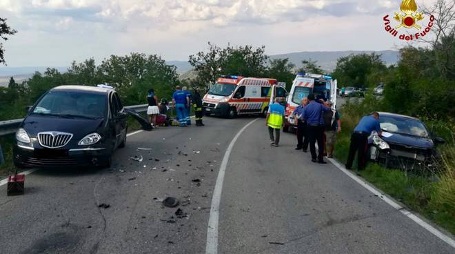 Castel del piano incidente agosto 2018