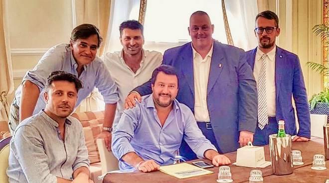 delegazione Lega da Salvini M.
