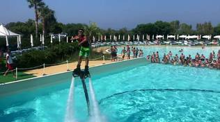 flyboard show acqua village