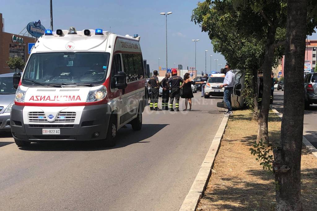 incidente auto ribaltata via Senegal 2018