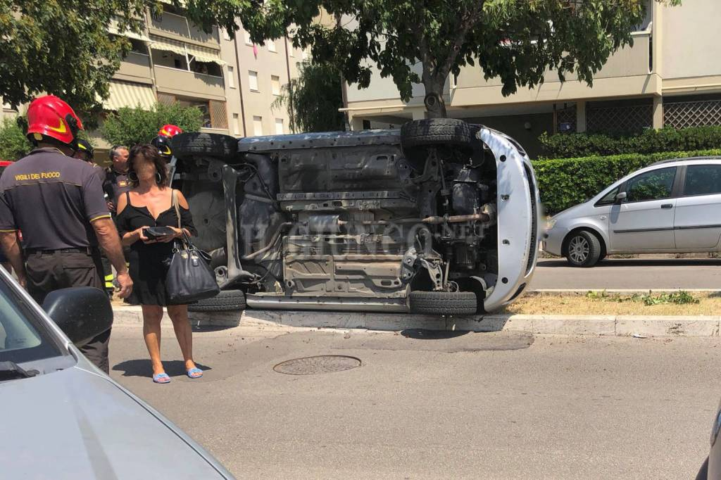 incidente auto ribaltata via Senegal 2018